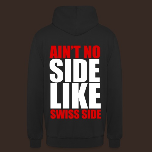 Swiss Side - Sweat-shirt à capuche unisexe