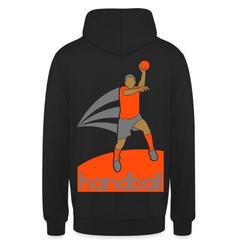 Handballer - Sweat-shirt à capuche unisexe