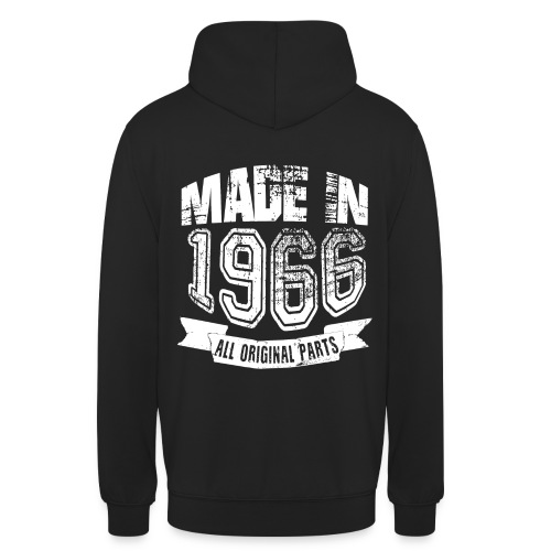 Made in 1966 - Sudadera con capucha unisex