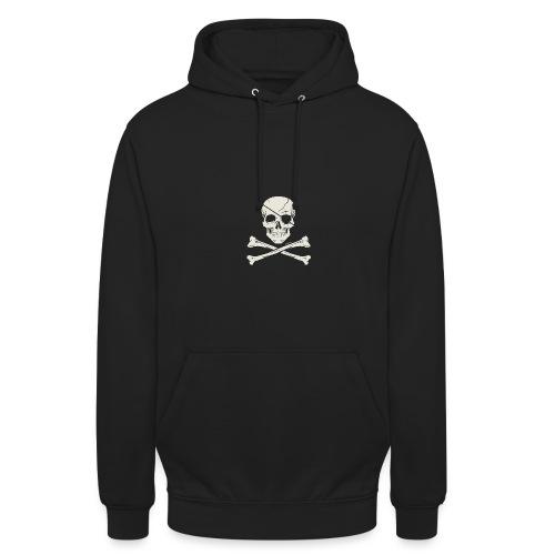 skull vector - Sudadera con capucha unisex