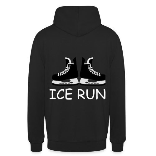 Ice Run - Sweat-shirt à capuche unisexe