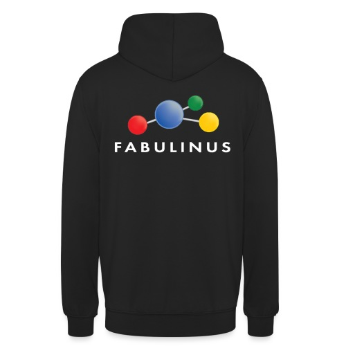 Fabulinus logo dubbelzijdig - Hoodie unisex