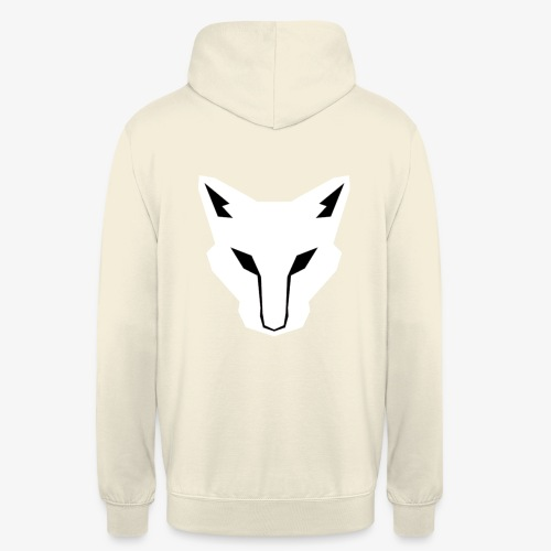 OokamiShirt Blanc - Sweat-shirt à capuche unisexe