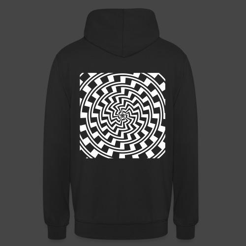 spirale 23 - Sweat-shirt à capuche unisexe