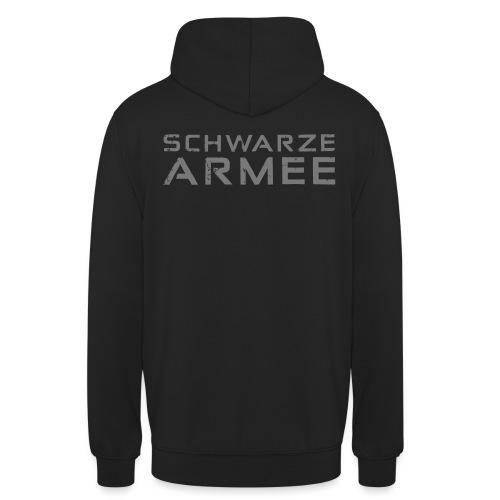 Grey Negant logo + SCHWARZE ARMEE! - Hættetrøje unisex