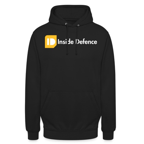 Logo_CMYK_orange_whitetex - Hoodie unisex