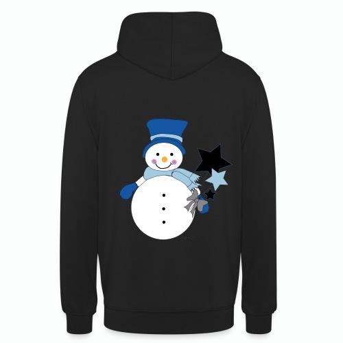 Snowtime-Blue - Unisex Hoodie