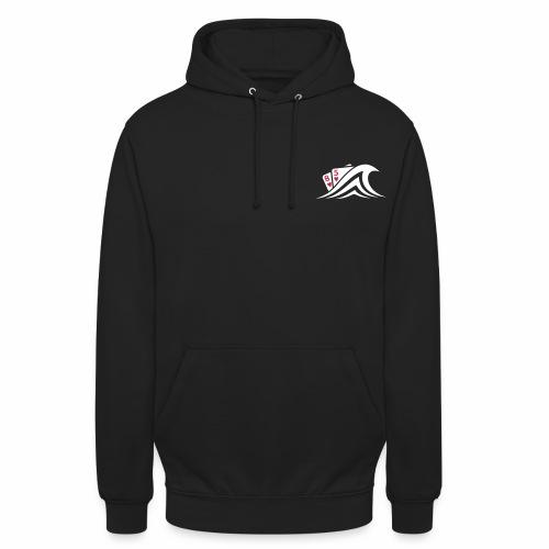 logo biton v - Sweat-shirt à capuche unisexe