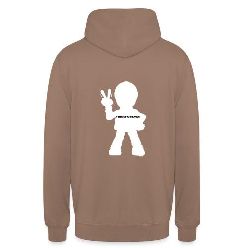RideForEver - Sweat-shirt à capuche unisexe