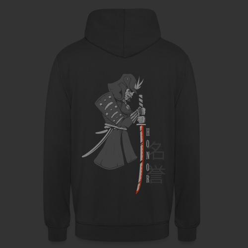 Samurai Digital Print - Unisex Hoodie