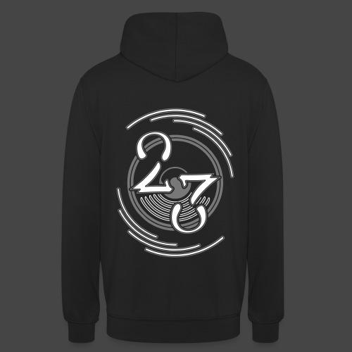 23 - Sweat-shirt à capuche unisexe
