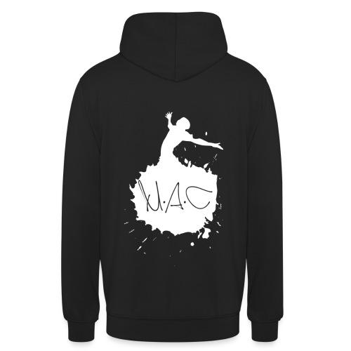 Logo MAC weiß png - Unisex Hoodie