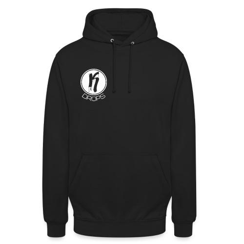 KDrops White Logo - Unisex Hoodie