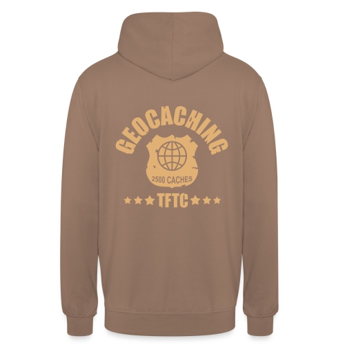 geocaching - 2500 caches - TFTC / 1 color - Unisex Hoodie