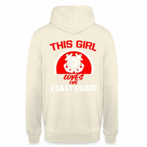 This Girl Loves The Coast Guard - Unisex Hoodie