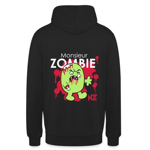 mr zombie - Sweat-shirt à capuche unisexe