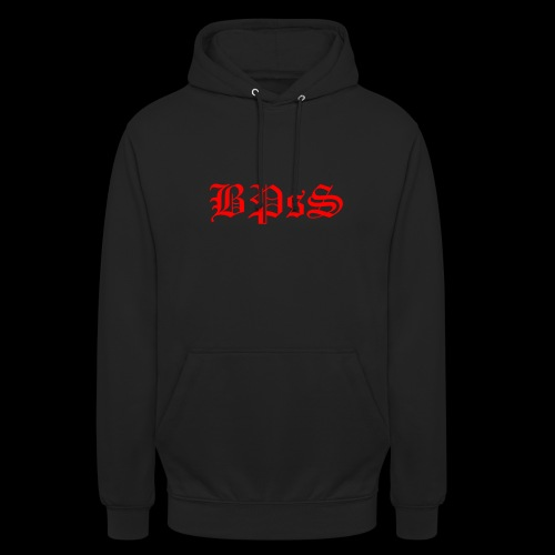 bpss red PNG - Unisex Hoodie