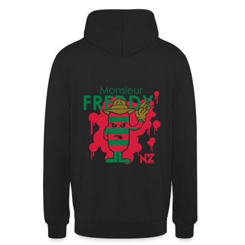 freddy - Sweat-shirt à capuche unisexe