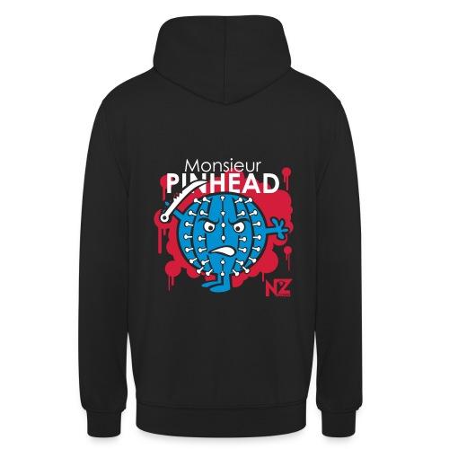 Mr pinhead - Sweat-shirt à capuche unisexe