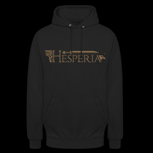 Roman Eagle (designed by Hesperus) & new logo - Unisex Hoodie