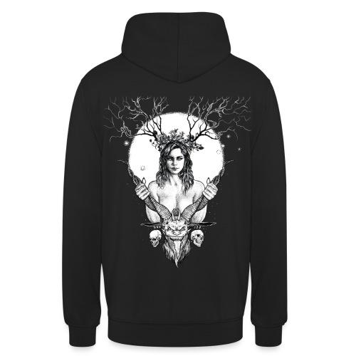 Lady Demon (black) - Unisex Hoodie