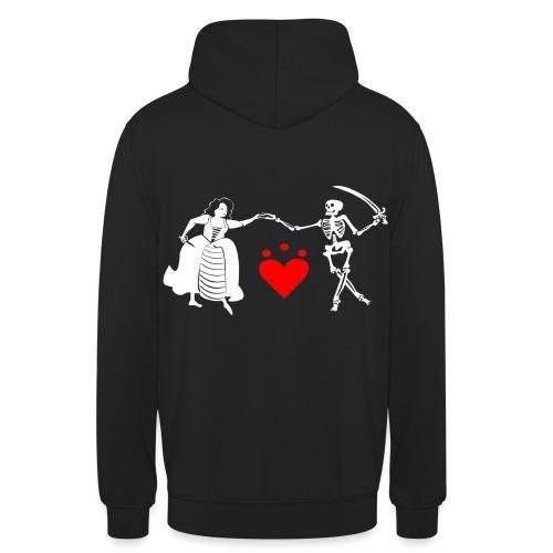 Jacquotte Delahaye - Sweat-shirt à capuche unisexe