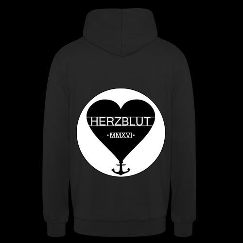 Herzblut Logo new png - Unisex Hoodie