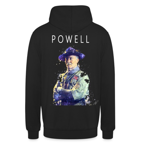 Powell -blanc- - Sweat-shirt à capuche unisexe