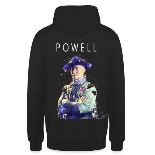 Powell -blanc- - Sweat-shirt à capuche unisexe