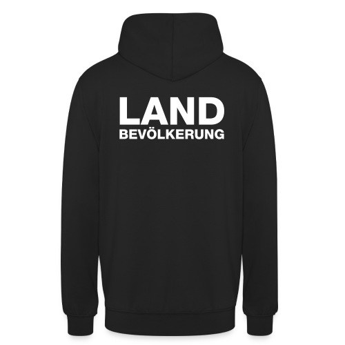 Landbevölkerung - Unisex Hoodie