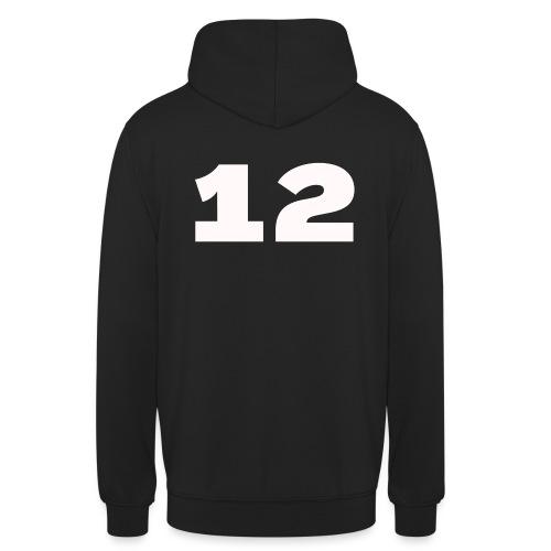 Het getal twaalf - Hoodie unisex