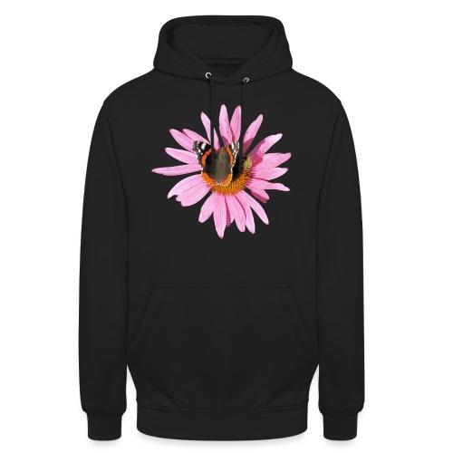 TIAN GREEN Garten - Sonnenhut Schmetterling - Unisex Hoodie