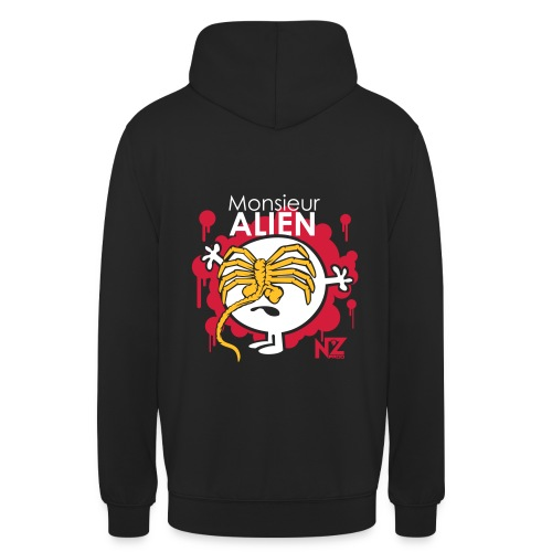 Mr Alien - Sweat-shirt à capuche unisexe