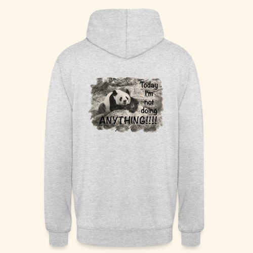 not doing anything4 - Unisex Hoodie