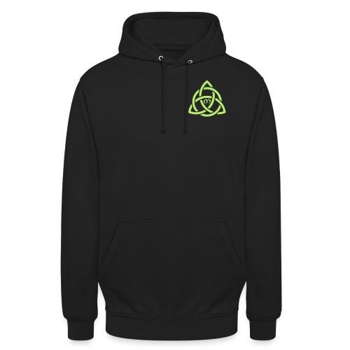 logo vert vectorisé - Sweat-shirt à capuche unisexe
