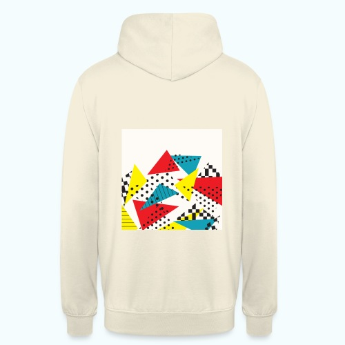 Abstract vintage collage - Unisex Hoodie