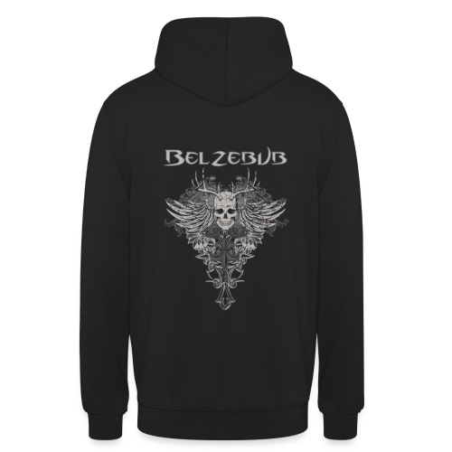 Belzebub skull devil - Unisex Hoodie