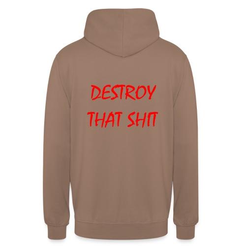 DestroyThatSh ** _ red - Unisex Hoodie