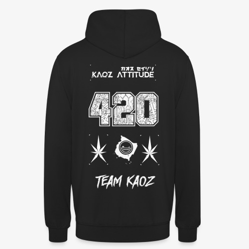 // Team Kaoz 420 Football Shirt - Unisex Hoodie