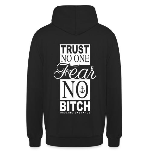 fear no bitch deff - Hoodie unisex