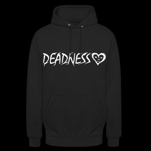 DEADNESS LOGO VERSION 2 Weiß png - Unisex Hoodie