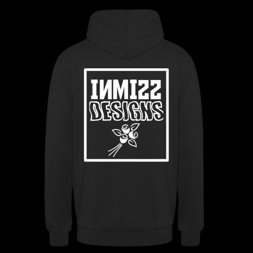 INMISS Designs White Rose Stock - Unisex Hoodie