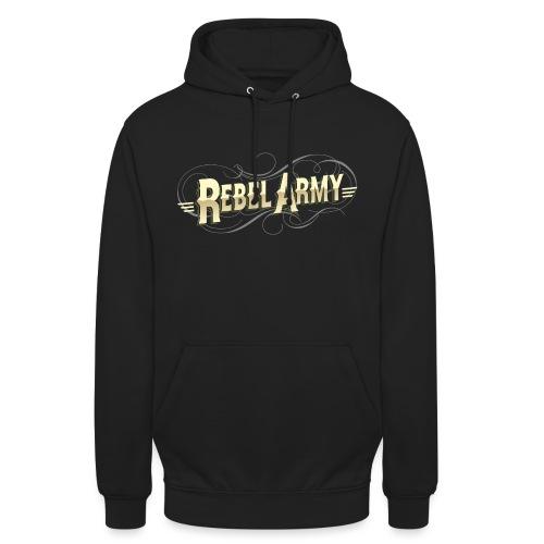 rebel army solo letras - Sudadera con capucha unisex