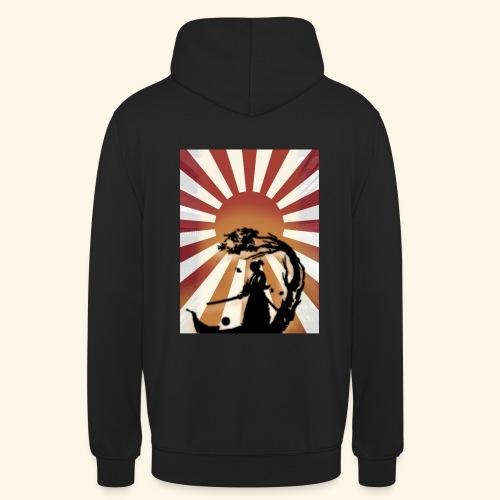 Japan Rising sun - Sweat-shirt à capuche unisexe