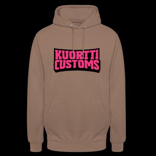 "kuortticustoms_logo_simpl - Huppari ""unisex"""