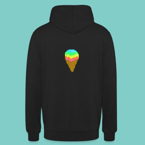 Glace - Sweat-shirt à capuche unisexe