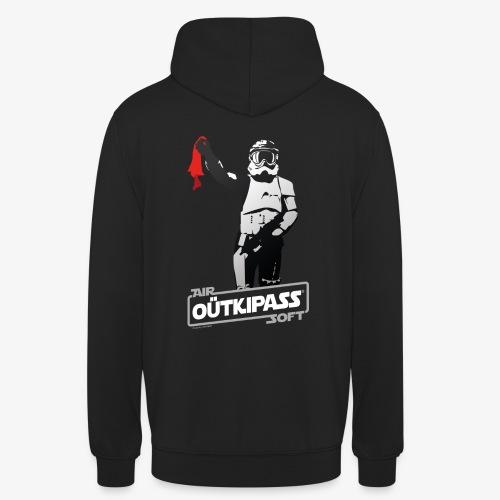 OutKipass pour T Noir - Sweat-shirt à capuche unisexe