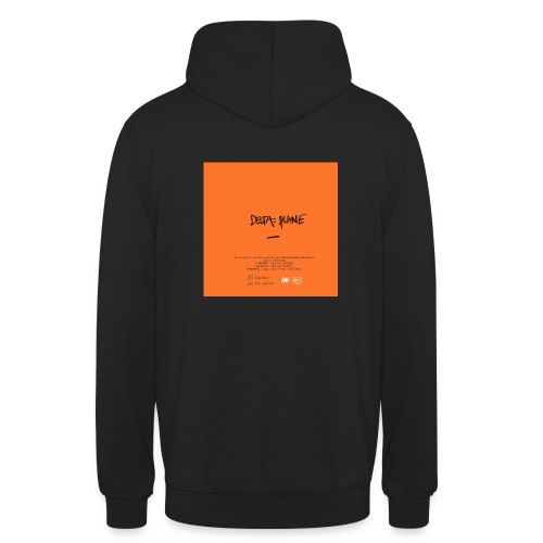 Cover Back delta. plane - Sweat-shirt à capuche unisexe
