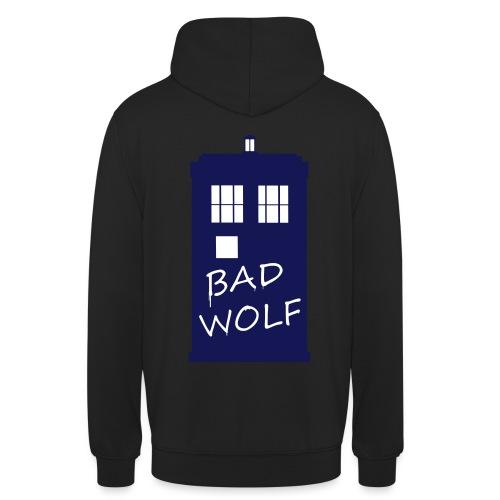 Bad Wolf Tardis - Sweat-shirt à capuche unisexe
