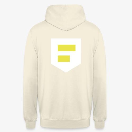 LOGO Blanc - Sweat-shirt à capuche unisexe